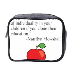 Fruit Of Education Mini Toiletries Bag 2 Side by athenastemple