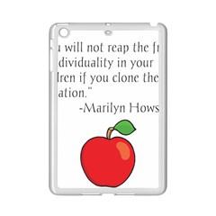 Fruit Of Education Ipad Mini 2 Enamel Coated Cases by athenastemple