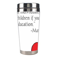 Fruit Of Education Stainless Steel Travel Tumblers by athenastemple