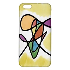 Art Abstract Exhibition Colours Iphone 6 Plus/6s Plus Tpu Case by Nexatart