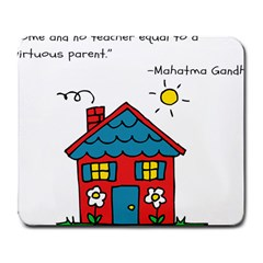 No School Greater    Large Mousepads by athenastemple