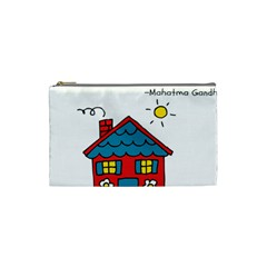 No School Greater    Cosmetic Bag (small)  by athenastemple