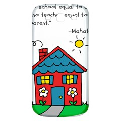 No School Greater    Samsung Galaxy S3 S Iii Classic Hardshell Back Case by athenastemple