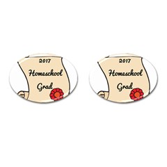 2017 Homeschool Grad! Cufflinks (oval) by athenastemple