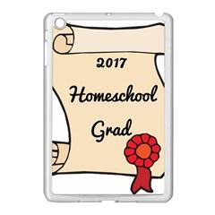 2017 Homeschool Grad! Apple iPad Mini Case (White) by athenastemple