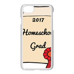 2017 Homeschool Grad! Apple Iphone 7 Seamless Case (white) by athenastemple