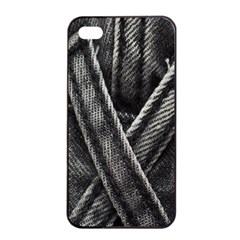 Backdrop Belt Black Casual Closeup Apple Iphone 4/4s Seamless Case (black) by Nexatart