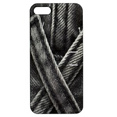 Backdrop Belt Black Casual Closeup Apple Iphone 5 Hardshell Case With Stand by Nexatart