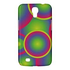Background Colourful Circles Samsung Galaxy Mega 6 3  I9200 Hardshell Case by Nexatart