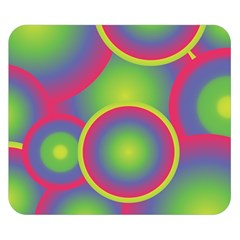 Background Colourful Circles Double Sided Flano Blanket (small)  by Nexatart