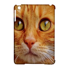 Cat Red Cute Mackerel Tiger Sweet Apple Ipad Mini Hardshell Case (compatible With Smart Cover) by Nexatart