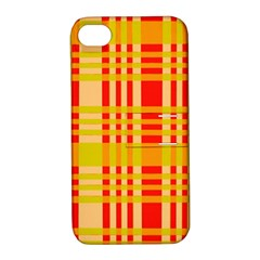 Check Pattern Apple Iphone 4/4s Hardshell Case With Stand by Nexatart