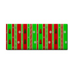 Christmas Paper Pattern Cosmetic Storage Cases by Nexatart