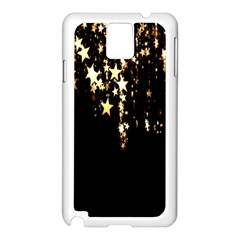 Christmas Star Advent Background Samsung Galaxy Note 3 N9005 Case (white) by Nexatart