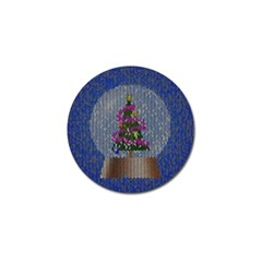 Christmas Snow Golf Ball Marker (10 Pack) by Nexatart