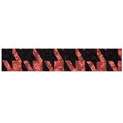 Dogstooth Pattern Closeup Flano Scarf (large) by Nexatart