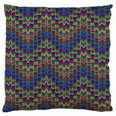 Decorative Ornamental Abstract Standard Flano Cushion Case (Two Sides) by Nexatart