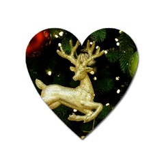 December Christmas Cologne Heart Magnet by Nexatart