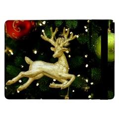 December Christmas Cologne Samsung Galaxy Tab Pro 12 2  Flip Case by Nexatart