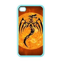 Dragon Fire Monster Creature Apple Iphone 4 Case (color) by Nexatart