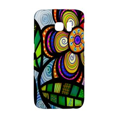 Folk Art Flower Galaxy S6 Edge by Nexatart