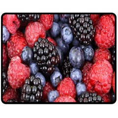 Forest Fruit Fleece Blanket (medium)  by Nexatart