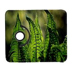 Fern Ferns Green Nature Foliage Galaxy S3 (flip/folio)