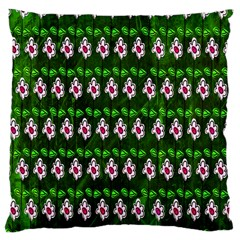 Floral Pattern Large Cushion Case (two Sides) by Nexatart
