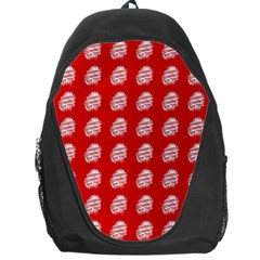 Happy Chinese New Year Pattern Backpack Bag by dflcprints