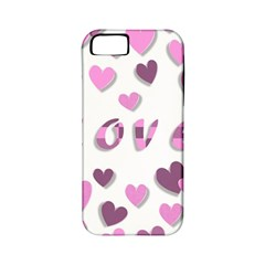 Love Valentine S Day 3d Fabric Apple iPhone 5 Classic Hardshell Case (PC+Silicone) by Nexatart