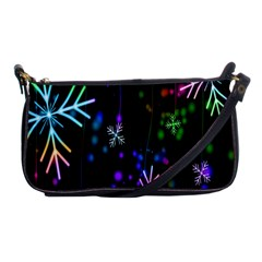 Nowflakes Snow Winter Christmas Shoulder Clutch Bags by Nexatart