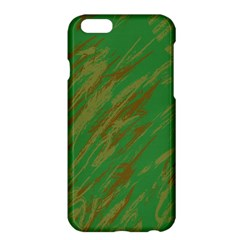 Brown Green Texture                                                 apple Iphone 6 Plus/6s Plus Hardshell Case by LalyLauraFLM