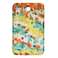 Retro Watercolors                                                     			samsung Galaxy Tab 3 (7 ) P3200 Hardshell Case by LalyLauraFLM