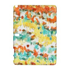 Retro Watercolors                                                     			samsung Galaxy Note 10 1 (p600) Hardshell Case by LalyLauraFLM