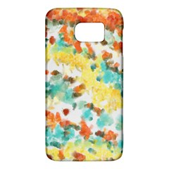 Retro Watercolors                                                     			samsung Galaxy S6 Hardshell Case by LalyLauraFLM