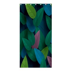 Leaf Rainbow Shower Curtain 36  x 72  (Stall)  by Jojostore