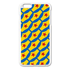 Images Album Heart Frame Star Yellow Blue Red Apple Iphone 6 Plus/6s Plus Enamel White Case by Jojostore