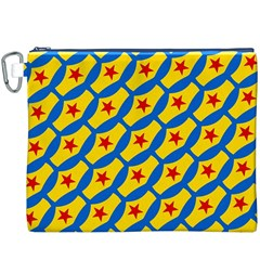 Images Album Heart Frame Star Yellow Blue Red Canvas Cosmetic Bag (xxxl) by Jojostore