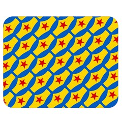 Images Album Heart Frame Star Yellow Blue Red Double Sided Flano Blanket (medium)  by Jojostore
