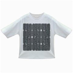Line Hole Plaid Pattern Infant/Toddler T-Shirts