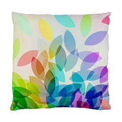 Leaf Rainbow Color Standard Cushion Case (one Side) by Jojostore