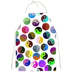 Ying Yang Seamless Color Cina Full Print Aprons by Jojostore