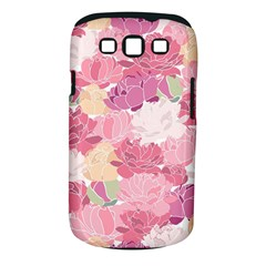 Peonies Flower Floral Roes Pink Flowering Samsung Galaxy S Iii Classic Hardshell Case (pc+silicone) by Jojostore