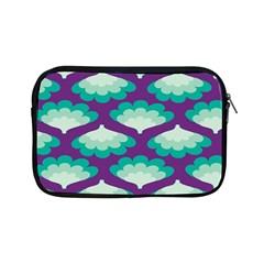 Purple Flower Fan Apple Ipad Mini Zipper Cases by Jojostore