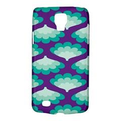 Purple Flower Fan Galaxy S4 Active by Jojostore