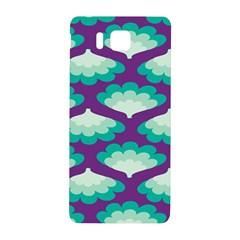 Purple Flower Fan Samsung Galaxy Alpha Hardshell Back Case by Jojostore