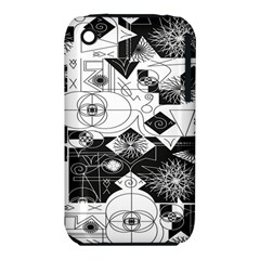 Point Line Plane Themed Original Design Iphone 3s/3gs by Jojostore