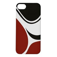 Red Black Apple iPhone 5S/ SE Hardshell Case