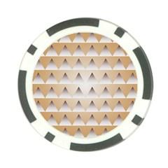 Pattern Retro Background Texture Poker Chip Card Guard by Nexatart