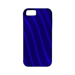 Sparkly Design Blue Wave Abstract Apple Iphone 5 Classic Hardshell Case (pc+silicone) by Jojostore